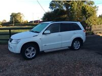 White Grand Vitara for sale low miles
