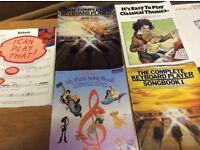 Piano/Keyboard beginners music books