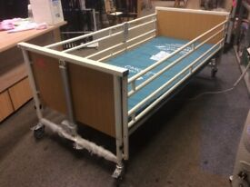 Specialised single bed. Electric multi positioning and height adjustable to suit individual