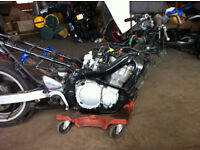 SUZIKI GXSF 600 2001 spare or repair £450 O.N.O