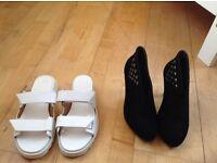 Marc Jacobs sandal+mellisa high heel boots