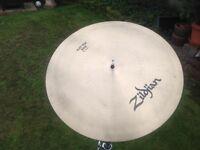 Zildjian flat top ride cymbal