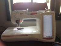 Innovis 5000 embroidery/sewing machine with extras. Laura Ashley ltd edition.