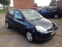 LOVELY FIVE DOOR FIESTA IN EXCELLENT CONDITION WITH 12 MONTHS MOT