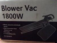 Leaf blower,vacuum and shredder