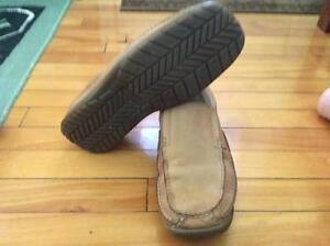 MENS SKECHERS LEATHER SLIP ONS SHOES West Island Greater Montréal image 1