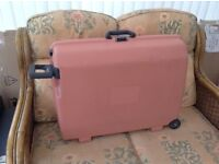 SAMSONITE PULL ALONG HARD SUITCASE IN VGC
