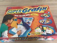 Super-Grafix drawing system for budding artists