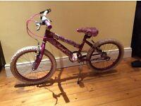 "Raleigh Krush 18"" girls bike .Used. £65.00 ( was £150.00)"