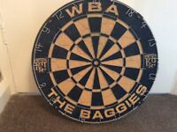 West Bromwich Albion dartboard