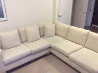 Sofa Workshop cream corner sofa
