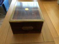 Antique Edwardian box with brass handles