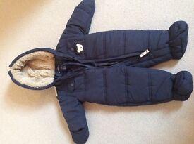 Baby Boy Snowsuit: Brand New, Unused