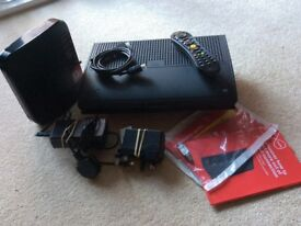Virgin TV Box, Remote Cotrol & Wireless Hub, all leads included