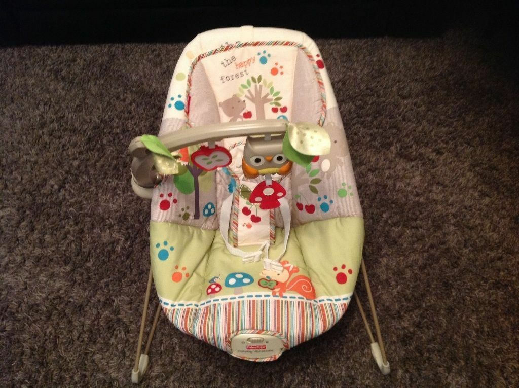 Fisher Price Flower Pharm Woodsy Bouncer   in Alloa, Clackmannanshire ...