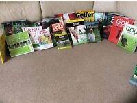 Selection of Golf books