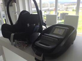 Maxi cosi car seat and family fix