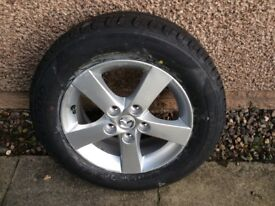 Brand New RadialTyre and Alloy Wheel for Mazda 3