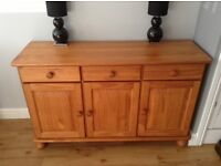 Stunning Large 3 Door and Drawer Side Board