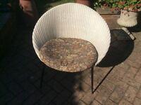 Vintage genuine Lusty Lloyd loom tub chair