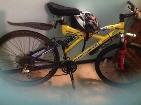 """26"""" diamondback bike and geart condition and ready to go.collection only £60 free bike hat"""