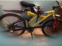 "26"" diamondback bike and geart condition and ready to go.collection only £60 free bike hat"