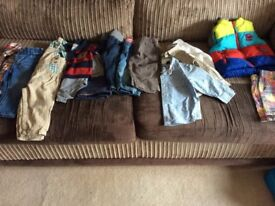 Boys 6-9 & 9-12 months bundle