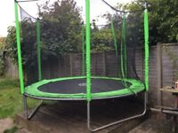 Trampoline, 3 metre 'Jump', a bit scruffy but in good working order