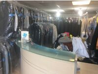 A dry cleaning business for sale