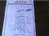 Alto Aluminium Industrial Tower £1400.00