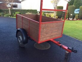 Trailer for sale 5ft6x3ft6