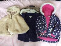 Girl's coats bundle
