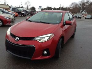 2014 Toyota Corolla Sport  Leather  $138 BIWEEKLY 0 DOWN!