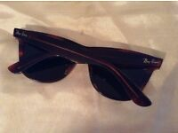 RayBan Wayfarers original in very good condition with case