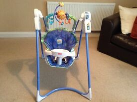 Fisher Price Link-a-doos Magical Mobile Swing