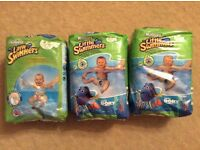 Little Swimmers size 3/4 nappies