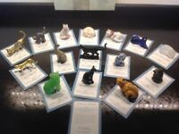 Franklin Mint Curio Cats Collection