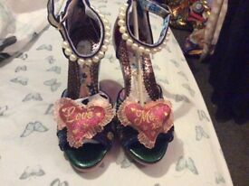 BNIB irregular choice shoes size 6(39)
