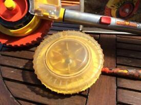 Garden seed drill