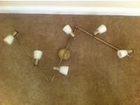 BRAND NEW Franklite Quintet 6 light bronze flush ceiling light £125 ONO