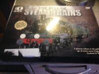 Box set 6 DVDs steam railway