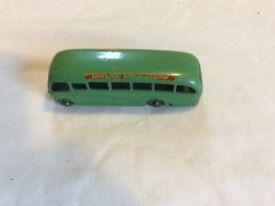 lesney Bedford Duple model coach