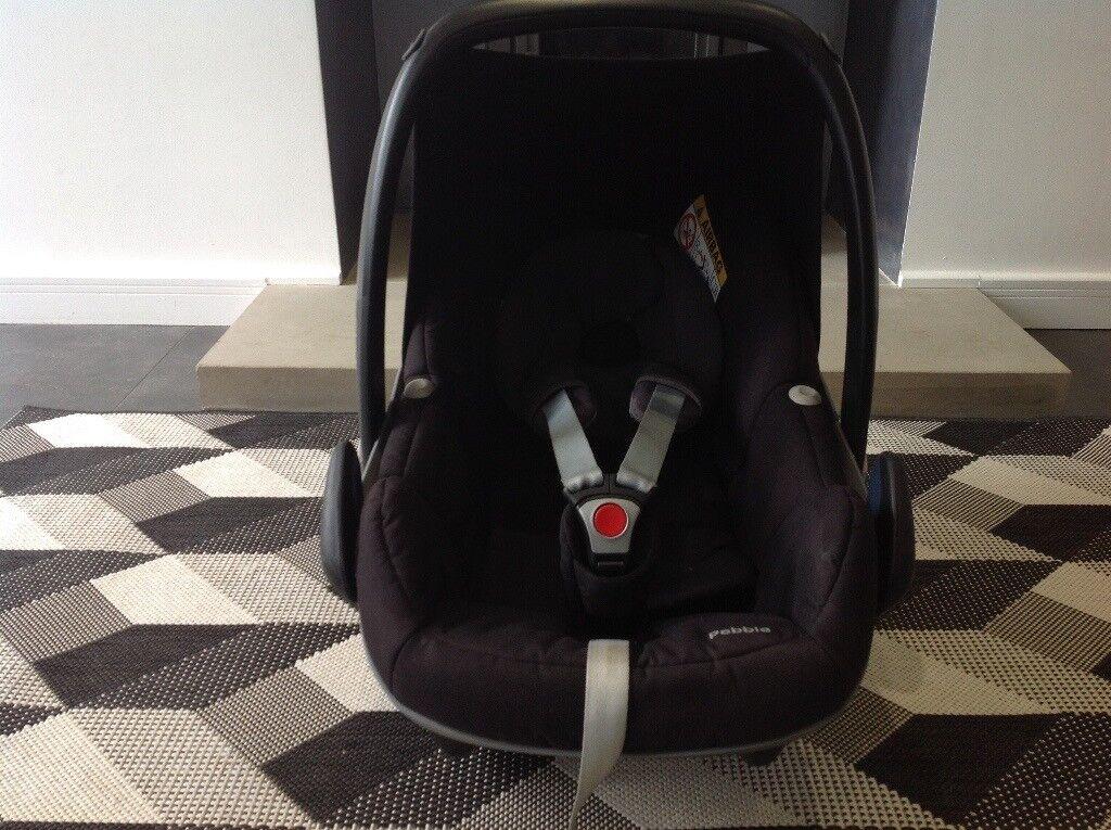 Maxi Cosi Pebble baby car seat - black
