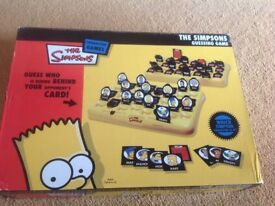 Simpsons guess who game