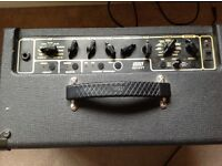 Vox AD15VT practise amp with Vox footswitch