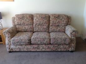 Sofa in good condition pet free home.