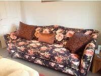 Large Parker Knoll sofa in perfect condition - RRP £1546 but selling for only £450!
