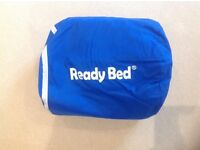 Ready bed and sleeping bag- blow up bed