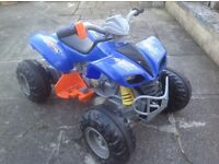 12v battery powered children's quad bike, with brand new battery