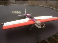 For sale rc nitro somthin extra rc plane need gone ASAP